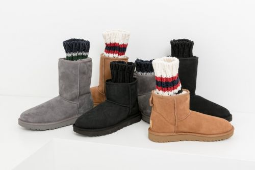 Sacai & UGG Come Together for Fall/Winter 2018 Footwear