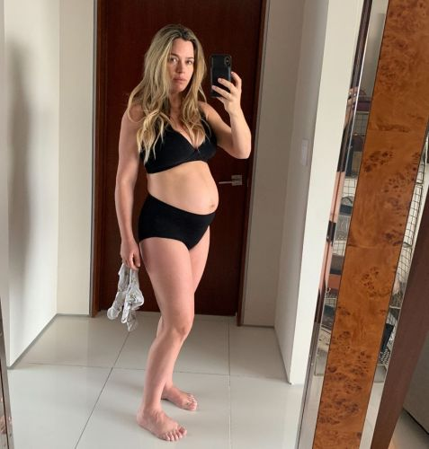 Teddi Mellencamp Shares 'Day 3 Postpartum Reality' in Bra and Compression Underwear