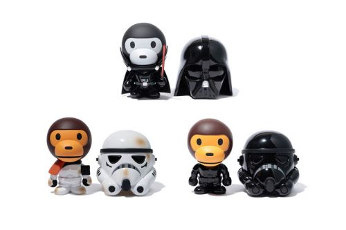 BAPE & Medicom Toy Pay Tribute to 'Star Wars' for New Baby Milo