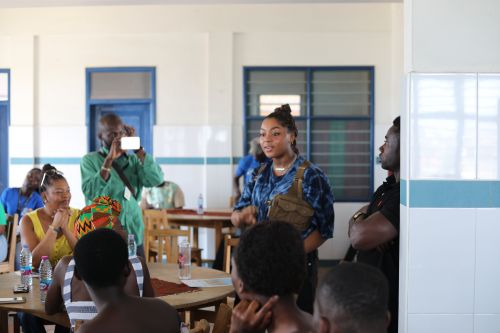 Girls United Goes Global: An Afternoon Of Sisterhood With The Young Women Of Ghana