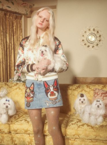 See Petra Collins' puppy love-themed shoot for Gucci