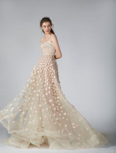 The GEORGES HOBEIKA Bridal Fall 2019 collection pays tribute to
