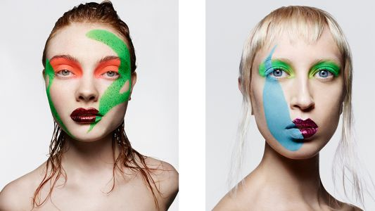 Colour Theory: Rankin and Andrew Gallimore create colour pop beauty