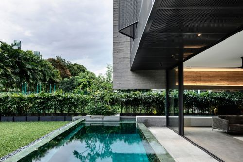 ONG&ONG's Singaporean Smart Home Goes Green Beyond the Trees