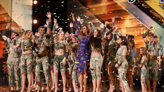 Zurcaroh Gets a Standing Ovation and the First Golden Buzzer on 'America's Got Talent'