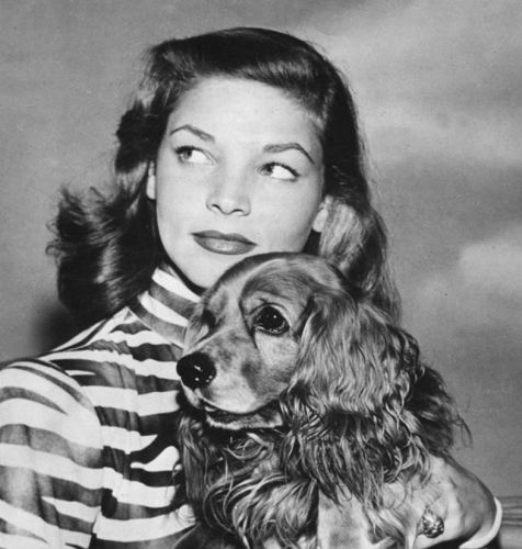 Lauren Bacall's Obsession With Dogs