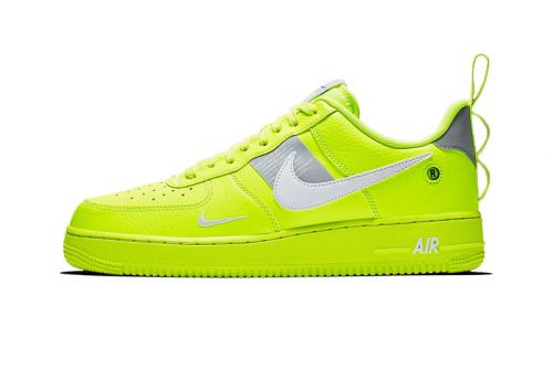 "Nike's Air Force 1 Utility Receives Blinding ""Volt"" Makeover"