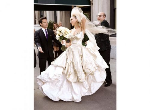 Sarah Jessica Parker's New Fashion Line is BrideGoals