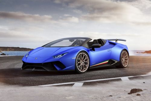 Lamborghini Goes Topless With Huracan Performante Spyder