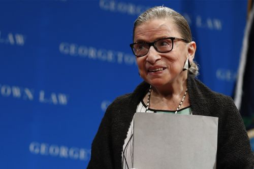 Ruth Bader Ginsburg on MeToo: 'It's about time'