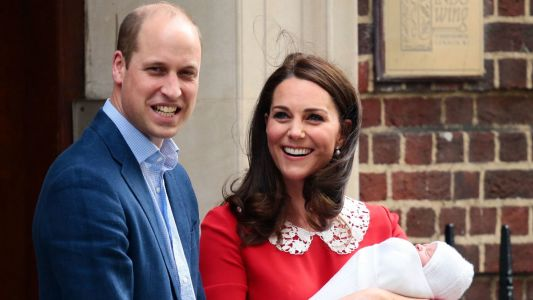 Kate Middleton Wears Jenny Packham, Again, to Introduce Her New Son to the World