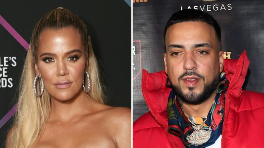 Khloé Kardashian and French Montana Were Spotted at Kourtney's Birthday Party and We're Into It