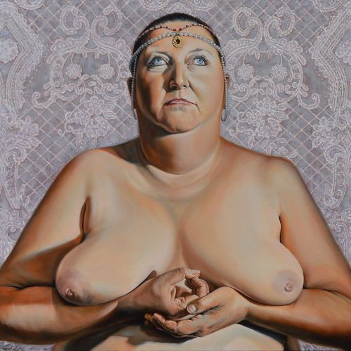 Why Kristine Schomaker asked 60 other artists to make nude portraits of her