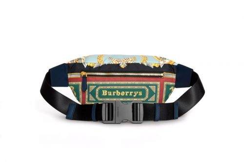 Burberry Brings out More Vintage Scarves for This New Belt Bag