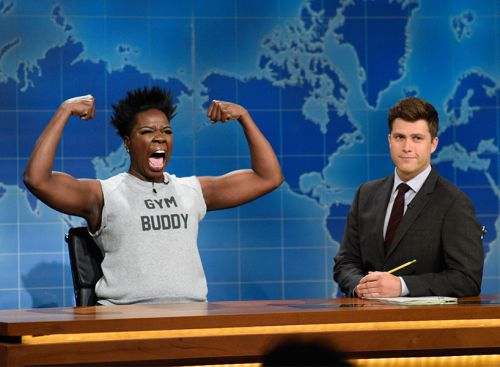 Leslie Jones Is the Gym Buddy We Wish We Had