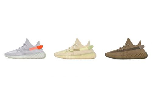 "Adidas Officially Announces YEEZY BOOST 350 V2 ""Tail Light,"" ""Flax"" and ""Earth"""