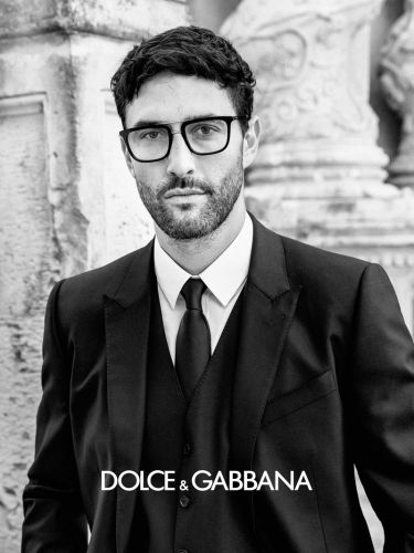 Noah & Kane Don Glasses for Dolce & Gabbana Spring '20 Eyewear Campaign