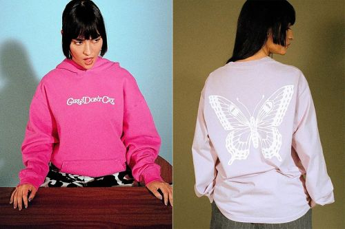 Verdy's Latest Lookbook Shows Off The Upcoming Girls Don't Cry Apparel and Accessories Capsule
