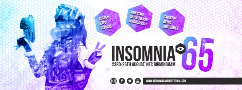 WIN TICKETS TO INSOMNIA GAMING FESTIVAL