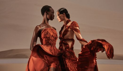 Iris Van Herpen Looked to Fungi to Inspire Her Spring 2021 Couture Collection
