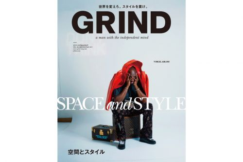Virgil Abloh Covers 'GRIND' for August 2018