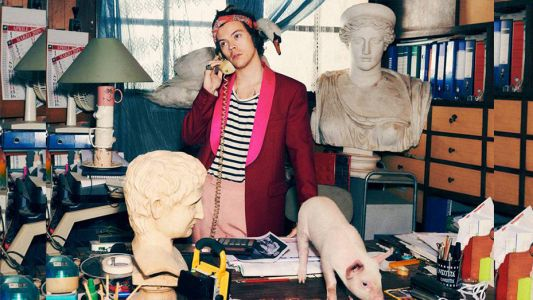 Grecian busts, pigs and Harry Styles: all you need to know about Gucci's latest campaign