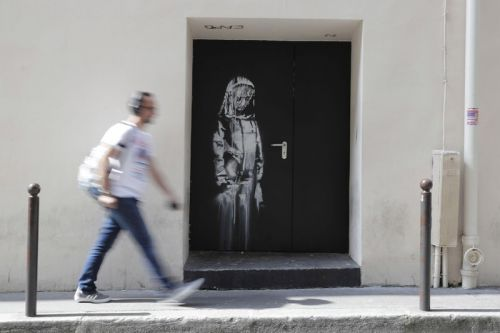 Six Suspects Arrested Over Theft of Banksy Mural From Bataclan