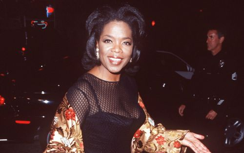 Great Outfits in Fashion History: Young Oprah Winfrey in a Mesh Dress and Silk Jacket