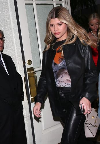 Girls' Night Out! Sofia Richie and BFF Pia Mia Look Stylish While Grabbing Dinner in Beverly Hills