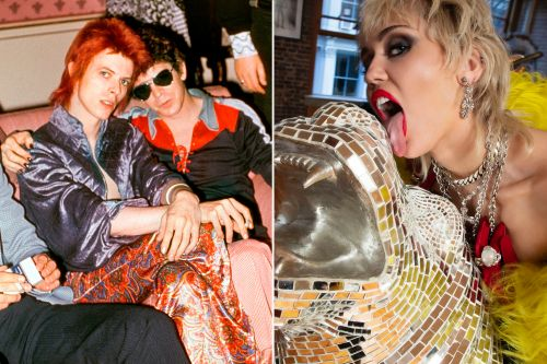 Bowie, Miley, Blondie: Mick Rock's photos and the stories behind them