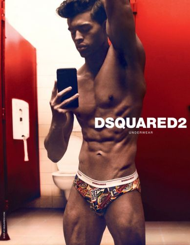Dsquared2 Hits the 'Gram with Fall '19 Underwear Campaign