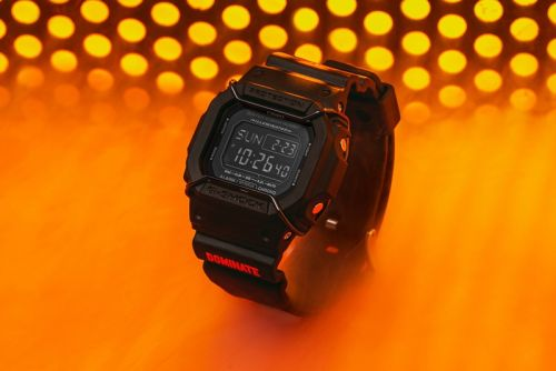Dominate's Collaborative G-SHOCK DW5600-P Takes Cues From Ma-1 Jackets