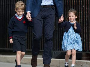 You Probably Missed Prince George And Princess Charlotte's Cute Sibling Moment