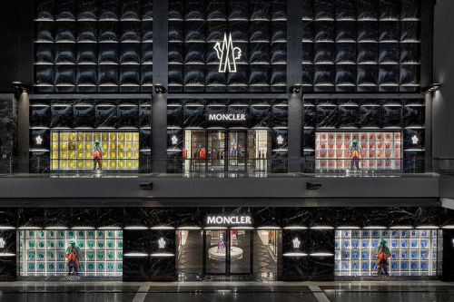 Moncler Opens New Flagship At Singapore's Marina Bay Sands Complex