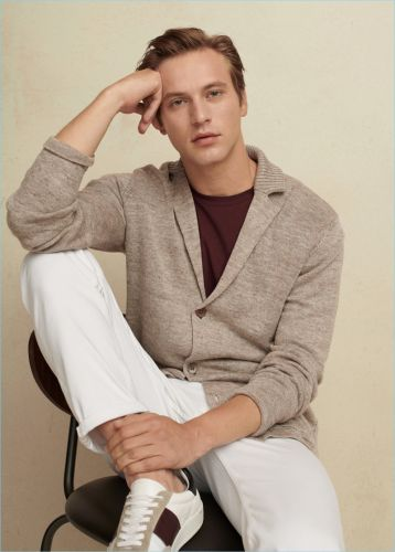 In With the New: Jules Raynal Dons Mango Man's Latest Arrivals
