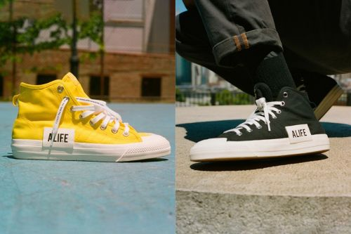 Alife and adidas Revisit the Nizza Hi With Two Logo Badge-Equipped Styles