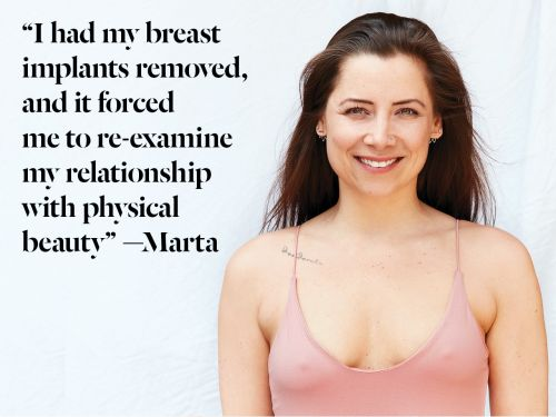 'Why I Had My Breast Implants Removed'