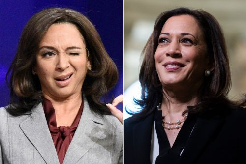 Watch every time Maya Rudolph played Kamala Harris on 'SNL'