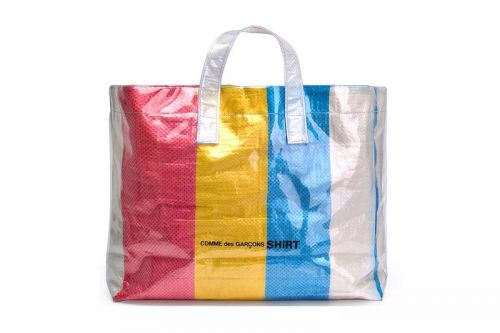 COMME des GARÇONS SHIRT's Plastic Tote Bags Are Summer Must-Haves