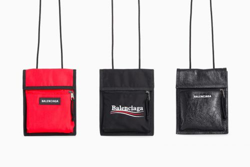 These Balenciaga Unisex Shoulder Bags Are Now Available for Purchase