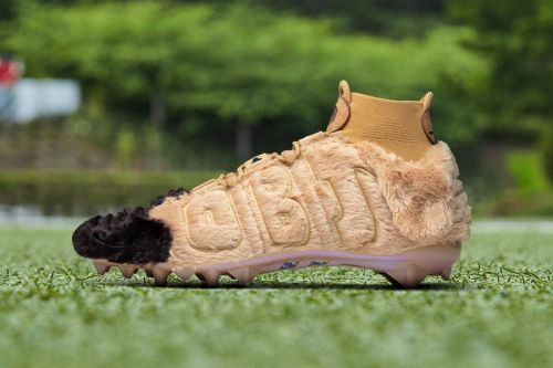 Nike Customizes Dog-Inspired Cleats for Odell Beckham Jr