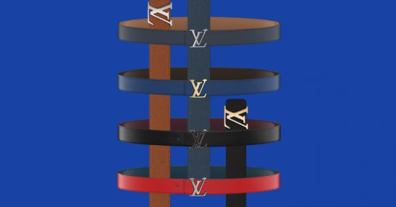 Louis Vuitton's Personalized Belt Service is Finally Here