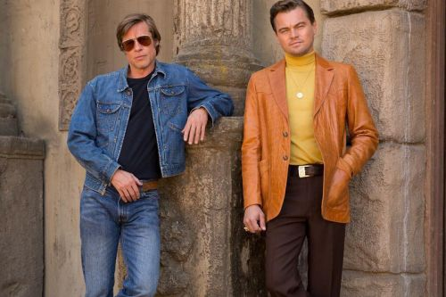 A First Look at Brad Pitt & Leonardo DiCaprio in Tarantino's 'Once Upon a Time in Hollywood'