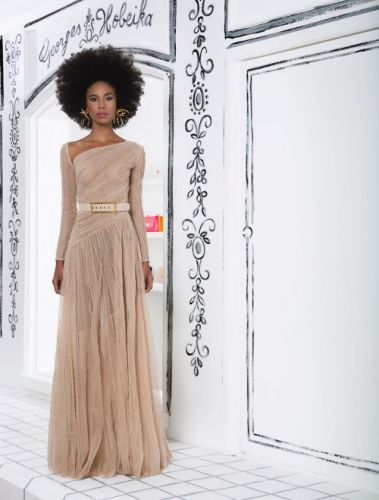 The GEORGES HOBEIKA Ready-To-Wear Spring-Summer 2019 collection