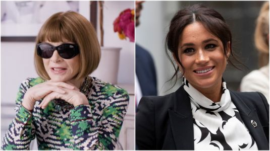 Anna Wintour Approves of Meghan Markle's Pregnancy Style: 'I've Been Taken by the Way She's Been Dressing'