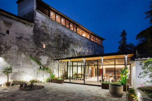 Ancient Chinese Mansion Gets Transformed Into a Modern Boutique Hotel
