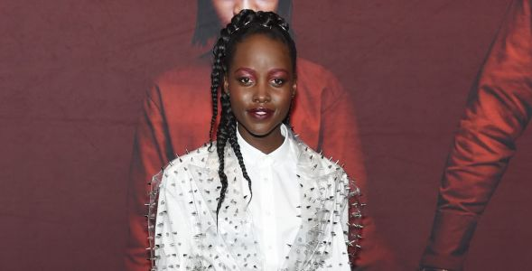 Lupita Nyong'o Makes a Transparent Balmain Blazer Look Good