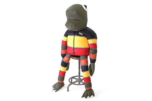 READYMADE Debuts Gargantuan Down-Filled Frogman Figure