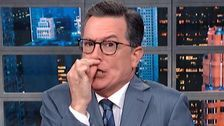 Huh? Colbert Mocks Trump's Weirdly Confusing 'Ultimate' Threat To Iran