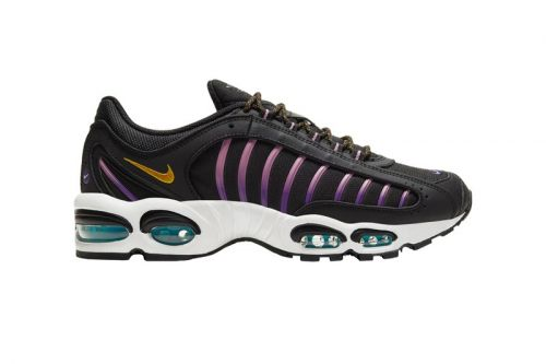 "Nike's Latest Air Max Tailwind IV Features Accented Hits of ""Pollen Rise"" & ""Voltage Purple"""